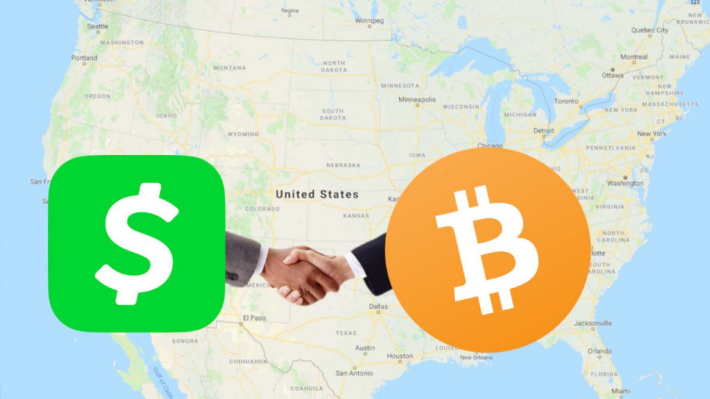 Cashapp now lets all US CashApp users buy and sell Bitcoin